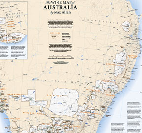 The Wine Map of Australia by Max Allen