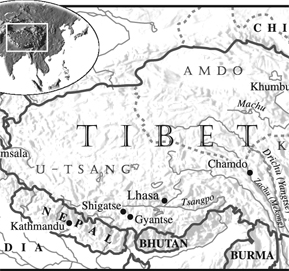 Tibet on the Himalayan Plateau