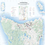 Tasmania Wine &#038; Gastronomy Map 