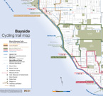 Bayside Bicycle trail map