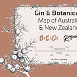 Gin & Botanicals Map of ANZ
