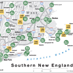 NPR Map of New England