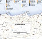 Map of Coastal Trail