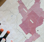 Map of Subregions of Yarra Valley for mac forbes wines