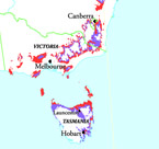 Potential Grape-Growing Regions for Sparkling