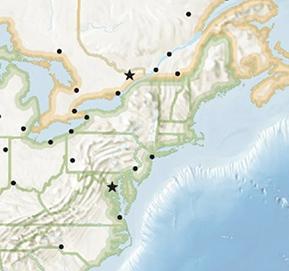 Geo Bee Challenge map